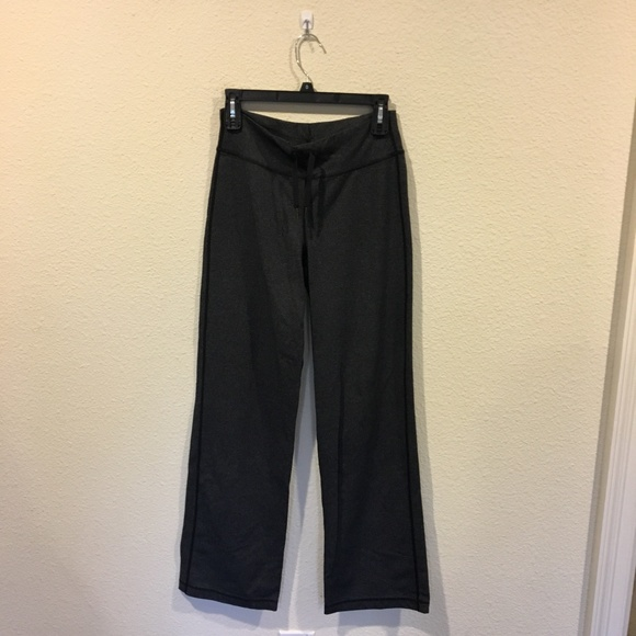 lululemon athletica Pants - Lululemon gray tie waist sweat pants